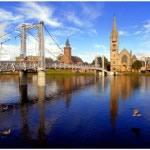 Victorian Bridge over the River Ness