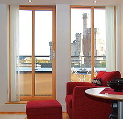 Inverness apartment overlooking the Castle