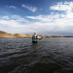 Fly Fishing in a Highland Loch
