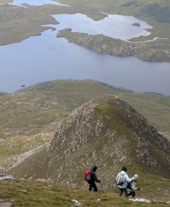 Hillwalking and Munro bagging in the Scottish Highlands