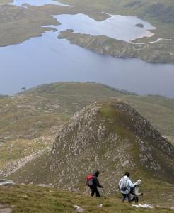 Hillwalking and Munro bagging in the Scottish Highlands