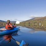 Outdoor activities kayaking in scotland