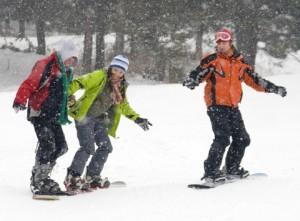 Snowboarding in Aviemore