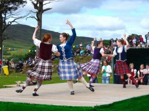 Scottish Country dancing at a Highland Games