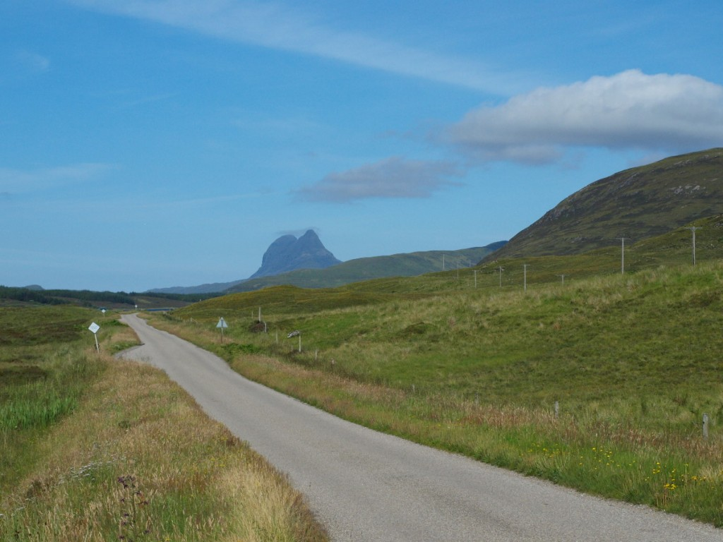 Driving to Loch Assynt