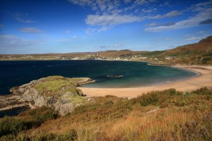 One of the beautiful beaches in Gairloch