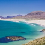 One of the many beaches on the Hebrides Islands